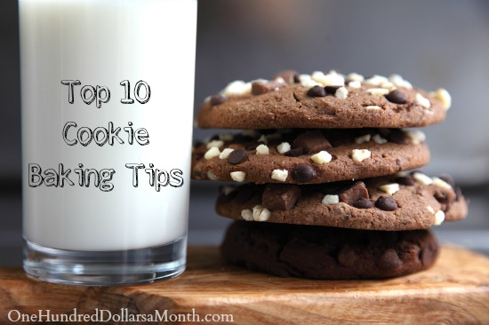 Top 10 Cookie Baking Tips