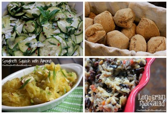 Weekly Meal Plan - Menu Plan Ideas salads