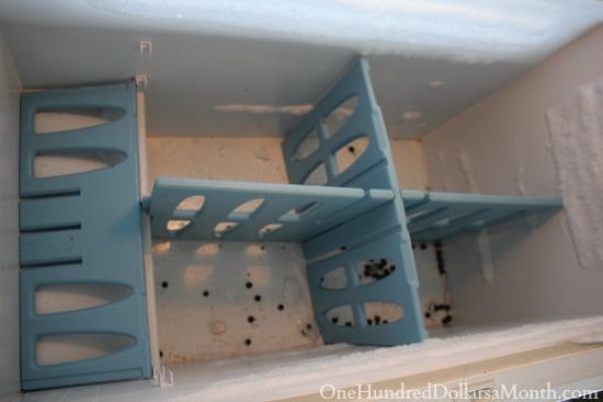 empty chest freezer