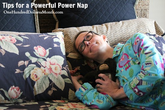 Tips for a Powerful Power Nap