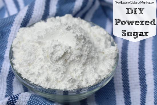 how to make powered sugar