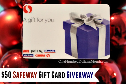 safeway gift card giveaway