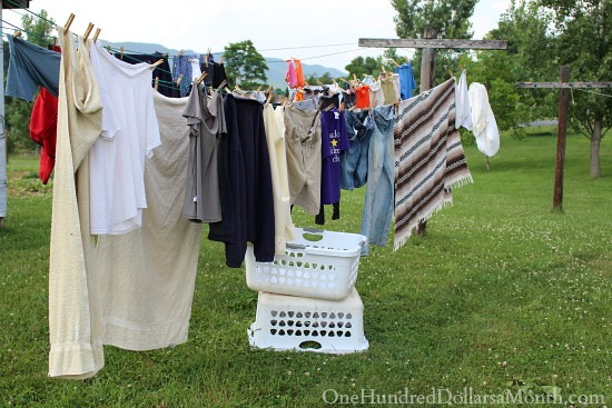 laundry clothesline
