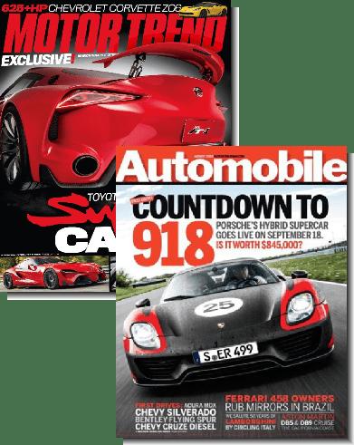 motor trend automobile magazine