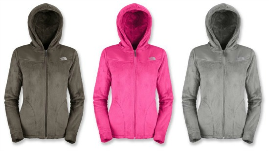 the north face oso fleece jacket