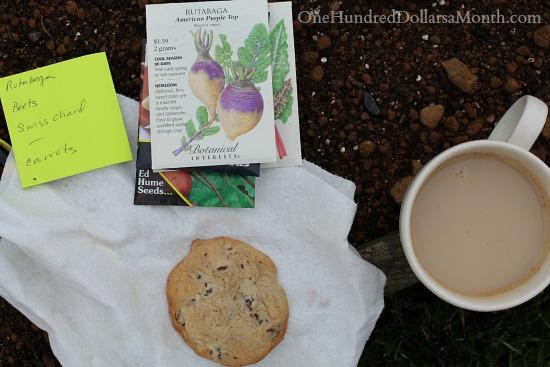 botanical interests garden seed packets