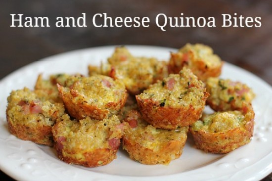 Ham-and-Cheese-Quinoa-Bites