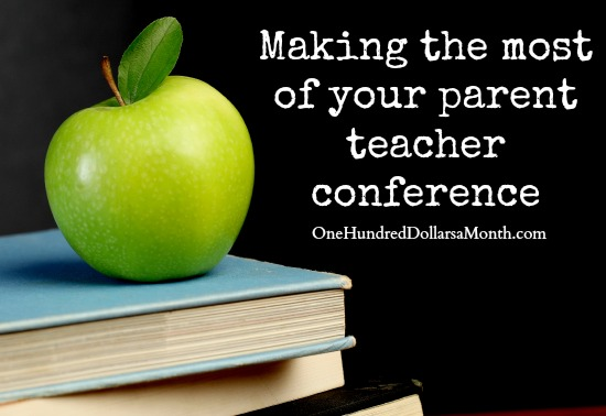 Making the most of your parent teacher conference