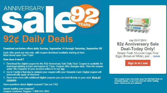fred meyer anniversaey sale coupon