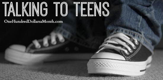 talking to teens