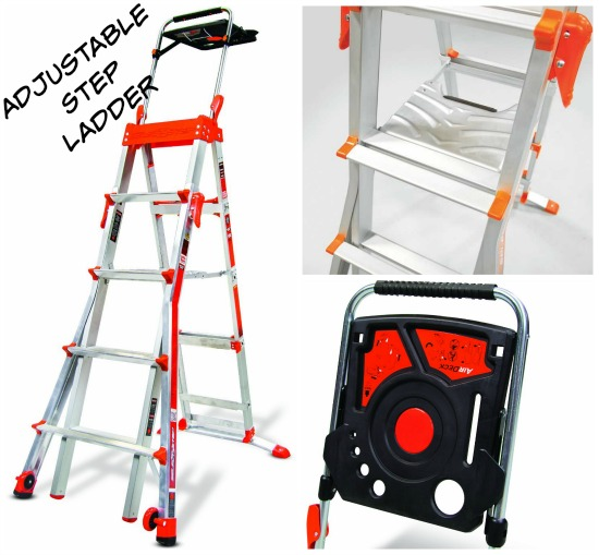 Adjustable Step ladder
