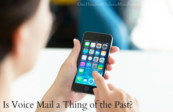 Is Voice Mail a Thing of the Past