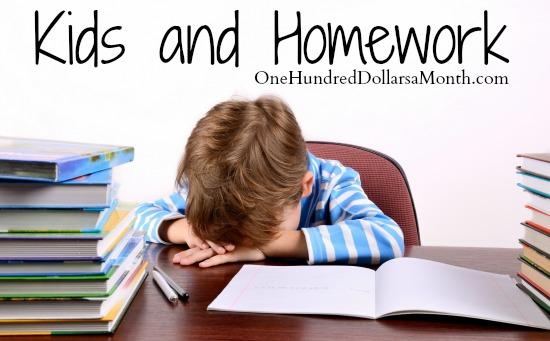 Kids and Homework