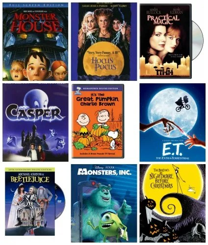 Top 10 Kid Friendly Halloween Movies
