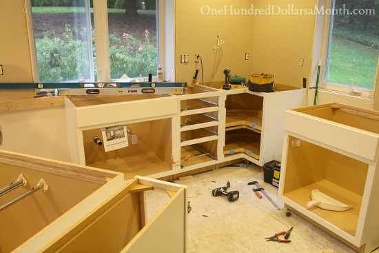 Mavis remodel blog day 24 what is the best counter top for Fitting kitchen units
