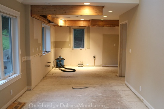 quick kitchen demo and remodel