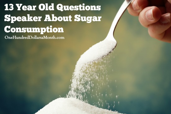 13 Year Old Questions Speaker About Sugar Consumption