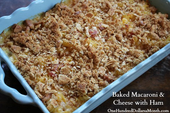 Baked-Macaroni-and-Cheese-with-Ham1