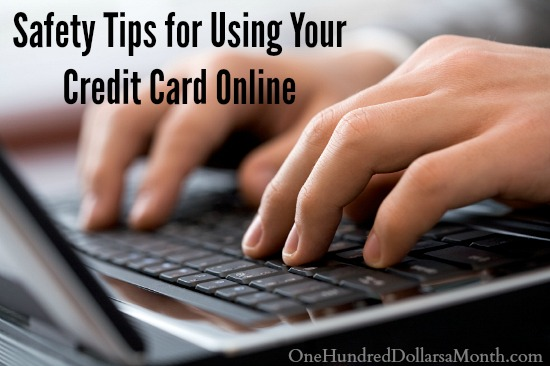 Safety Tips for Using Your Credit Card Online