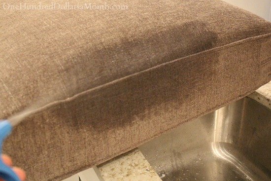 cleaning couch cushions