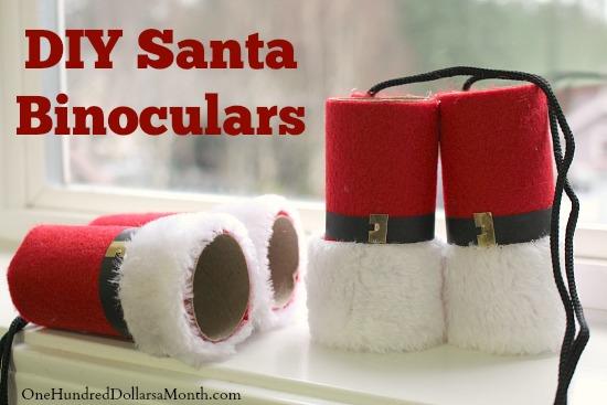 DIY Santa Binoculars