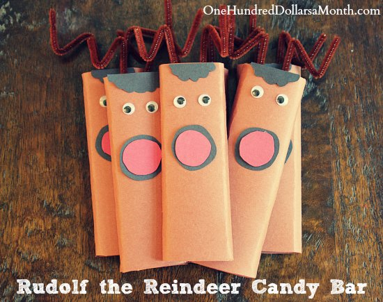 Easy-Kids-Christmas-Candy-Craft-Ideas-–-Rudolf-the-Reindeer-Candy-Bar