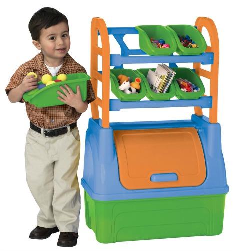 american plastic toy organizer