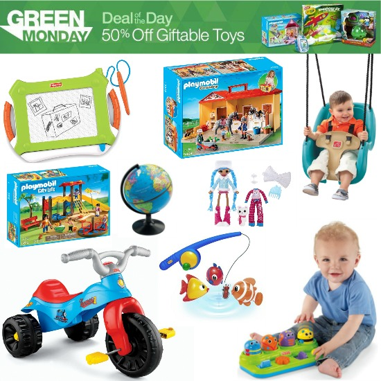 green monday toy sale