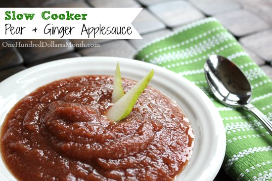Slow-Cooker-Pear-Ginger-Applesauce1