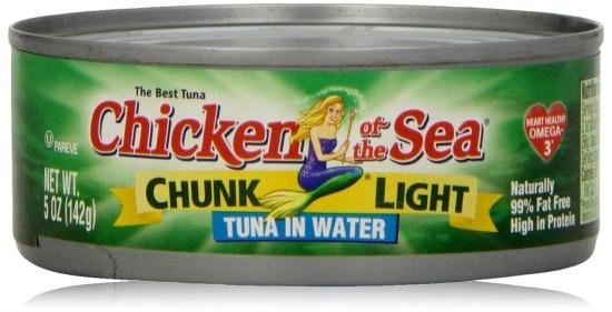 chicken of the sea tuna