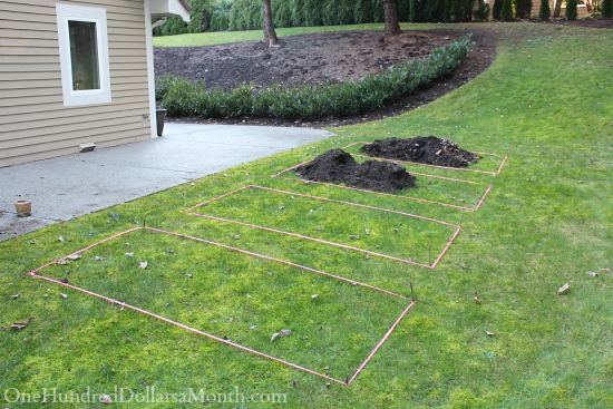 creating new garden beds