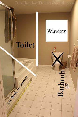 Trend master bathroom remodel