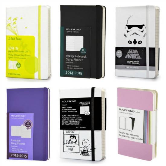 mole skin journals star wars