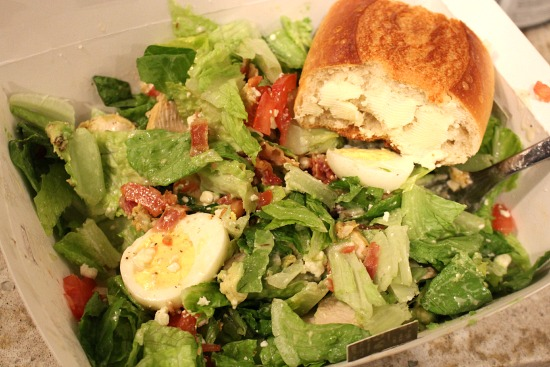 panera chicken cobb salad