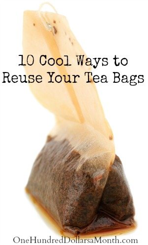 10 Cool Ways to Reuse Your Tea Bags
