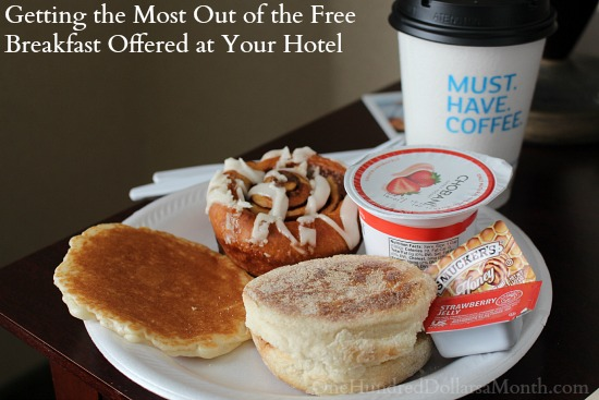Getting the Most Out of the Free Breakfast Offered at Your Hotel