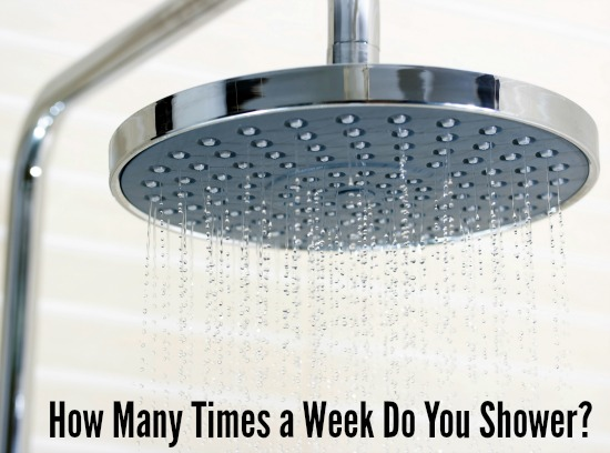 How Many Times a Week Do You Shower