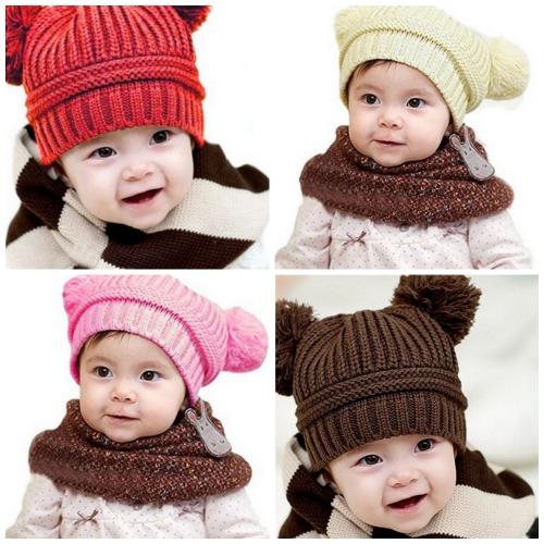 baby pom pom hats
