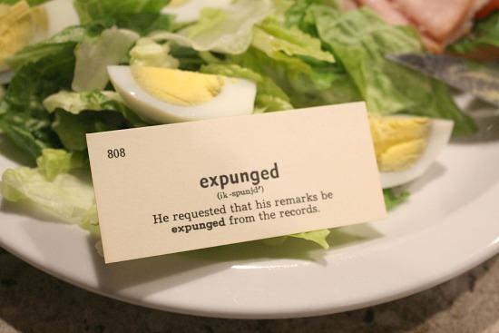 expunged