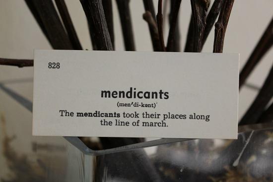 mendicants