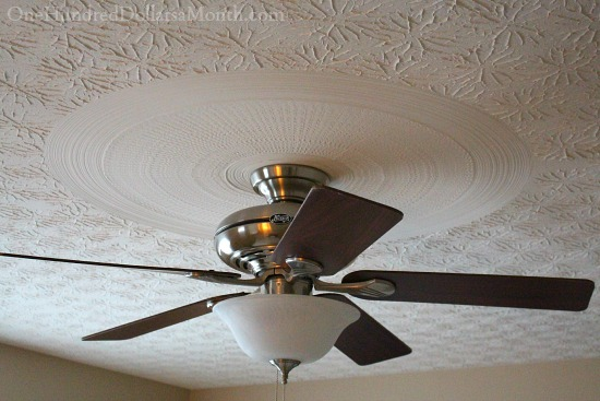 artsy textured ceiling
