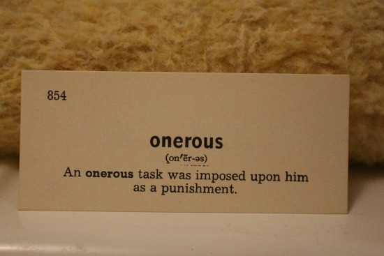 onerous