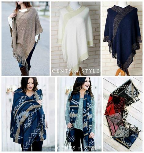 over sized shawls