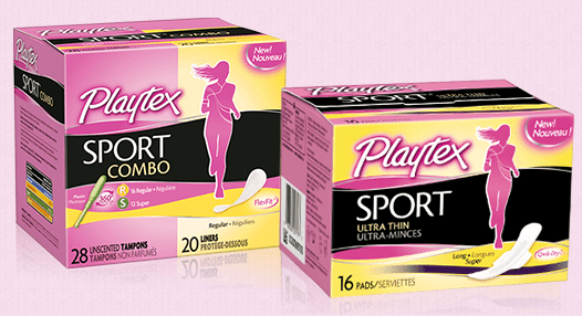 playtex sport sample