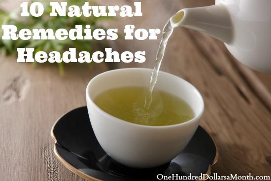 10 Natural Remedies for Headaches