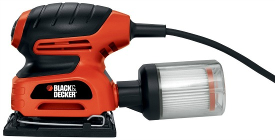 black and decker palm sander