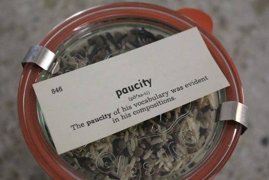 paucity