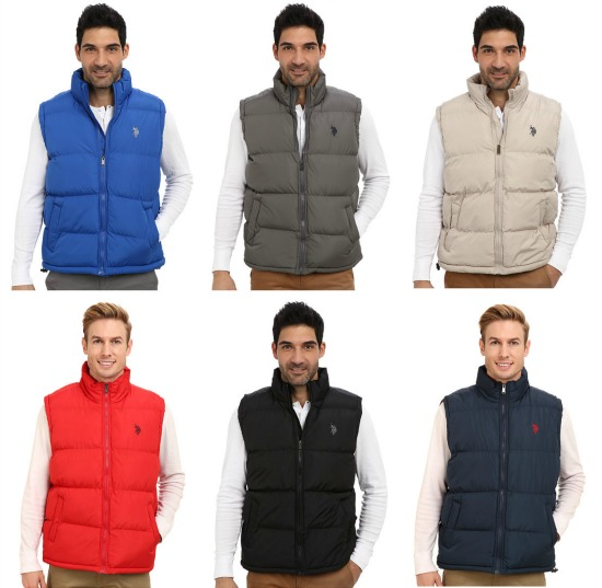 polo puffy vest