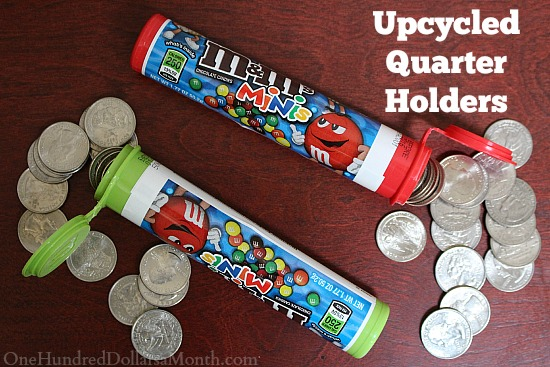 Upcycled Quarter Holders