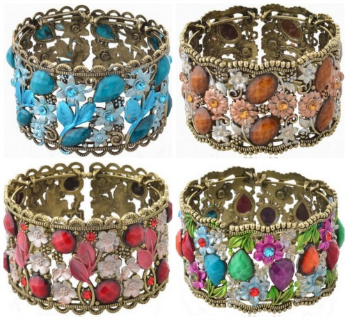 rhinestone bangle
